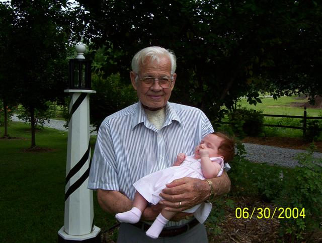 My Deceased Grandfather with My Daughter