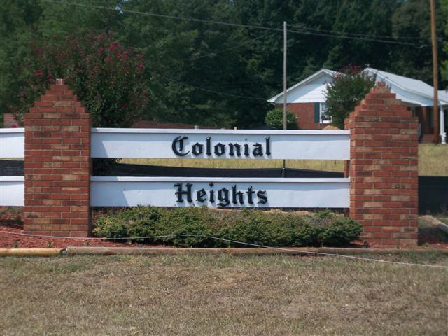 Colonial Heights is A Great Established Neighborhood in Lincolnton off Shuford Road for First Time Home Buyers