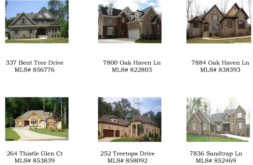 Five Homes Open for You to Tour!!