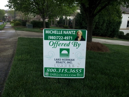 Lake Norman Realty Inc. Luxury Division Sign - Michelle Nantz, Realtor
