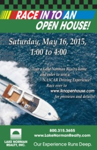 Race Into An Open House